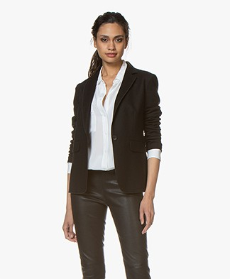 Rag & Bone Club Wollen Blazer - Zwart