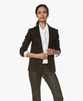 Rag & Bone Club Wool Blazer - Black