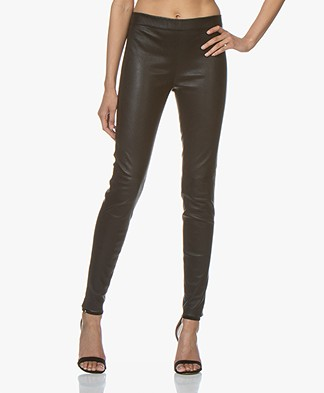 Vanessa Bruno Haikel Leather Leggings - Black