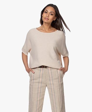 Sibin/Linnebjerg Portal Merino Mix Short Sleeve Sweater - Kit