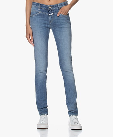 Closed Stacey X Slim-fit Jeans - Medium Blauw