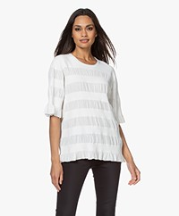 By Malene Birger Eurya High-twist Trui - Soft White