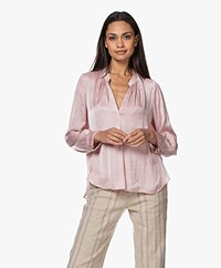 Zadig & Voltaire Tink Japanese Satin Blouse - Crepuscule