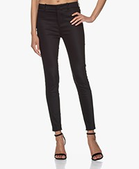 Drykorn Winch Stretchy Slim-Fit Pants - Black