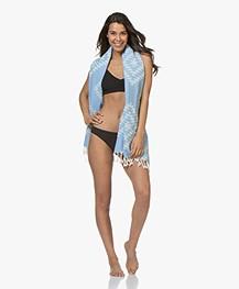Filippa K Soft Sport Cross-back Bikini Top - Navy