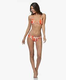 Calvin Klein Classic Bikini Briefs - Mandarin Red