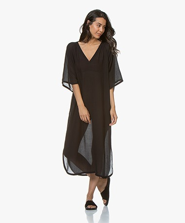 Filippa K Soft Sport Beach Kaftan - Black