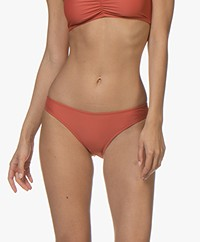 Filippa K Soft Sport Classic Shiny Brief - Dark Coral