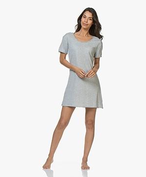 Calvin Klein Jersey Nachthemd - Grijs Mêlee