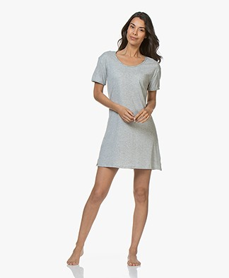 Calvin Klein Jersey Nightshirt - Grey Heather