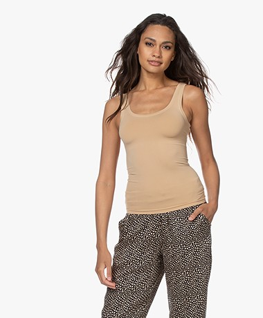 HANRO Touch Feeling Tank Top - Beige