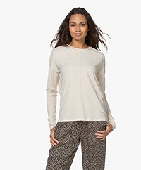 studio .ruig Tes Viscose Blend Long Sleeve - Nougat