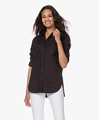Joseph Joe Light Poplin Overhemdblouse - Zwart