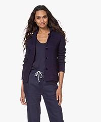Belluna Matin Knitted Blazer Cardigan - Navy