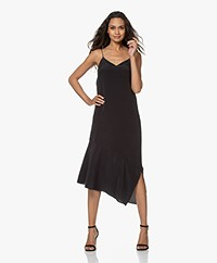 Equipment Jada Pure Silk Dress - Black