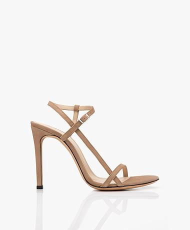 IRO Gizia Suede Sandals with Heel - Sand
