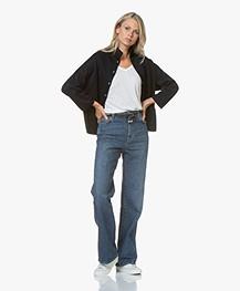 Closed Kathy Wijde Pijpen Jeans - Denim Blue