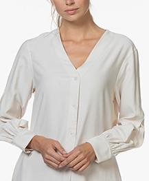 Filippa K Isobel Shirt Dress - Ivory