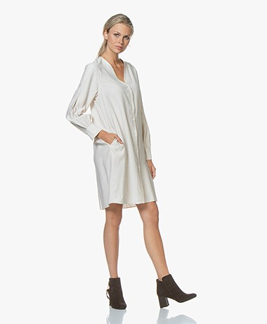 Filippa K Isobel Shirt Dress - Ivory