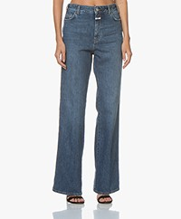 Closed Kathy Wide Leg Jeans - Denim Blue