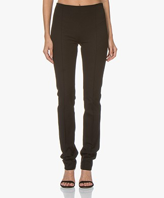 Joseph Floyd Gabardine Stretch Pants - Black