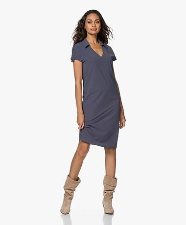 JapanTKY Rajas Travel Jersey Dress - Mauve