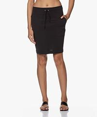 JapanTKY Ryon Travel Jersey Utility Skirt - Deep Black