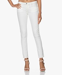 IRO Jarodcla Mid-rise Skinny Jeans - Off-white