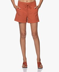 JapanTKY Kogi Travel Jersey Utility Shorts - Backed Clay
