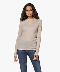 Filippa K Isa Casshmere Mix Long Sleeve - Sand Beige