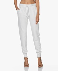 Anine Bing Saylor French Terry Sweatpants - Ivory