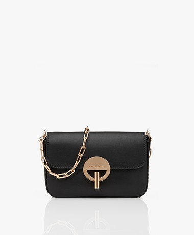 Vanessa Bruno Moon Shoulder Bag - Black