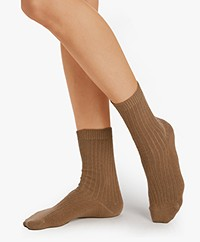 HANRO Wool Blend Socks - Cinnamon