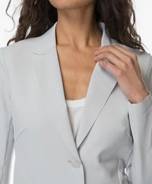 JapanTKY Danno Bonded Jersey Blazer - Grigio