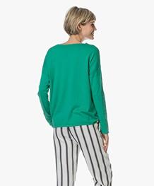 Closed Fijn Gebreide Trui met Cashmere - Emerald