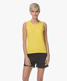 Josephine & Co Leticia Slipover with Cashmere - Yellow