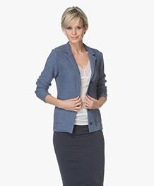 Belluna Fay Viscose Blend Blazer Cardigan - Jeans