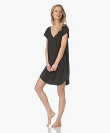 Calvin Klein Jersey Night Shirt - Black