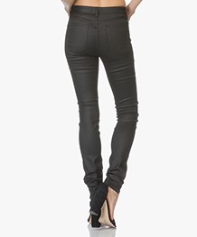 Filippa K Lola Shiny Denim Jeans - Zwart