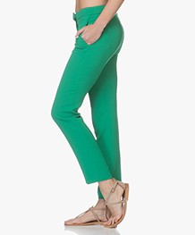 ba&sh Steady Crepe Pants - Green