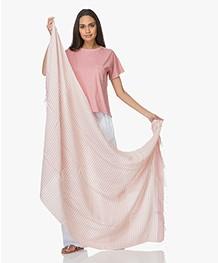 Bon Bini Hamamdoek Nawati 180cm x 90cm - Roze