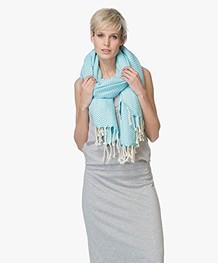 Bon Bini Hammam Towel Chikitu 180 cm x 90 cm - Turqoise