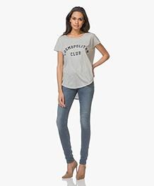 Denham Spray Super Tight Fit Jeans - Gewassen Blauw