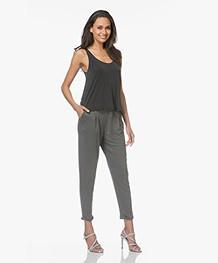 Friday's Project Double Jersey Sweatpants - Lead Grey Melange