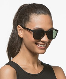 IZIPIZI Sun Nautic Polarized Sunglasses - Black/Green Lenses