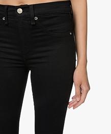 Rag & Bone High Rise Ankle Skinny Jeans - Zwart