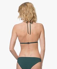 Filippa K Soft Sport Triangle Bikinitop - Emerald