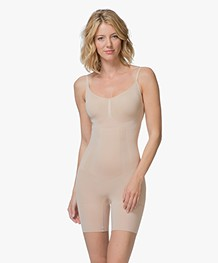 SPANX® OnCore Mid-Thigh Bodysuit - Soft Nude