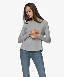 American Vintage Sweater Sonoma - Grijs Mêlee