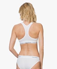 Calvin Klein Modern Cotton Bikinislip - Wit/Zwart